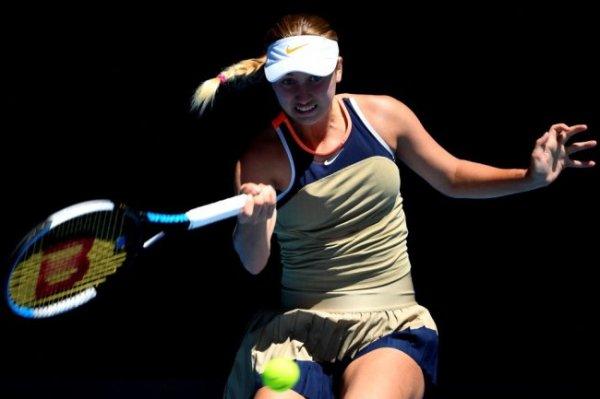 Потапова уступила Серене Уильямс на Australian Open