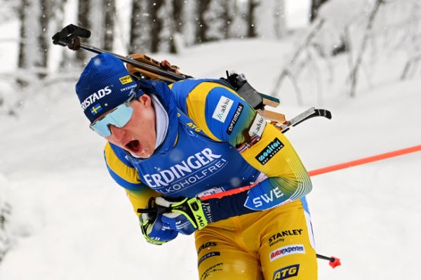 Швед Понсилуома выиграл спринт на ЧМ по биатлону
