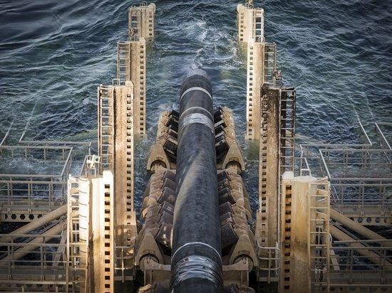 На Балтике возобновилась укладка газопровода «Северный поток – 2»