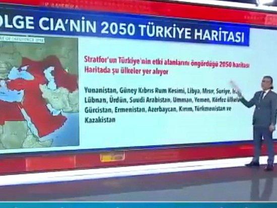 Турки оценили публикацию карты влияния Анкары на Крым и Кубань