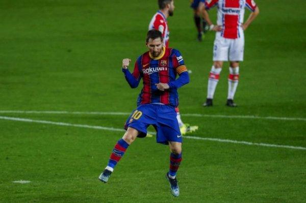 Месси установил два рекорда в матче Лиги чемпионов с
