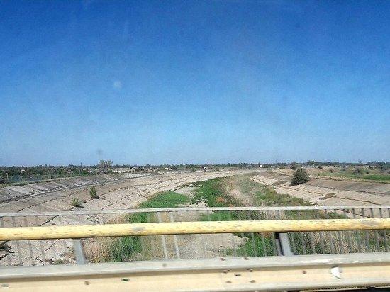 Угроза Украины перекрыть дамбой воду в Крым оказались пшиком