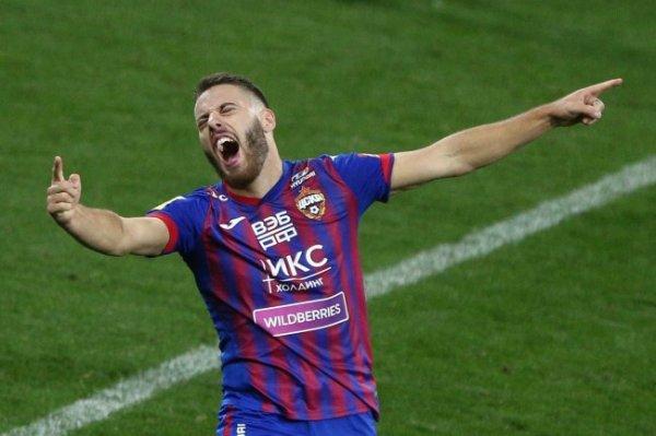 Футболист Влашич заявил о желании перейти из ЦСКА в европейский топ-клуб