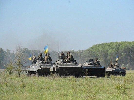 Военные Украины затеяли учения вблизи границ с Крымом
