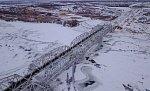 В Астраханской области открылось движение по новому железнодорожному мосту через реку Ахтуба