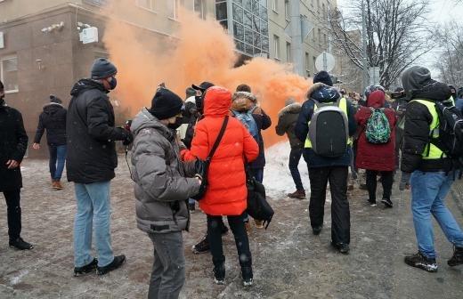 В Петербурге арестовали более 100 участников несогласованной акции