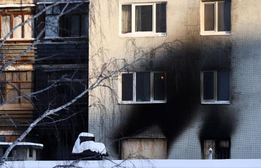 После пожара в поселке Мосрентген госпитализированы 12 человек