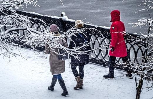 Нынешняя зима бьет рекорды по температурным перепадам
