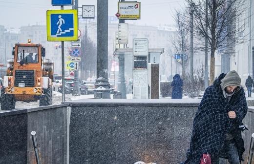 Пробки в Москве утром в субботу достигли девяти баллов