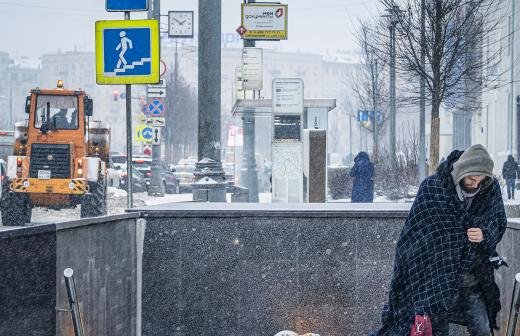 Власти Москвы намерены очистить город от снега за пять суток