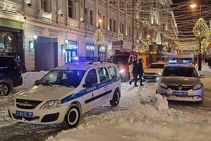 В центре Москвы загорелось здание с хостелом и кафе