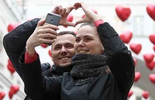 Аналитики назвали долю отметивших День святого Валентина россиян