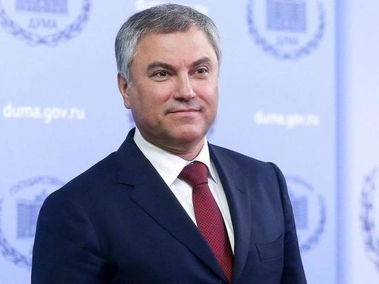 Володин заявил, что ЕСПЧ стал политическим инструментом влияния на страны