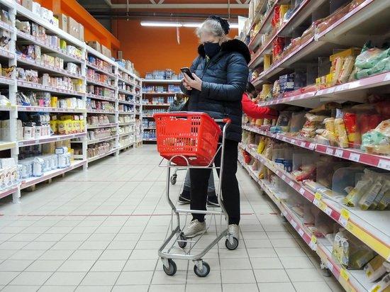 Россия обогнала Европу по росту цен на продукты в 8 раз