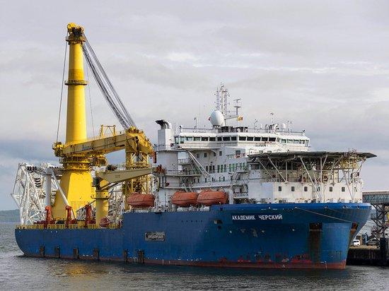 Новый поворот в строительстве «Северного потока - 2»: «Академик Черский» спешит на помощь