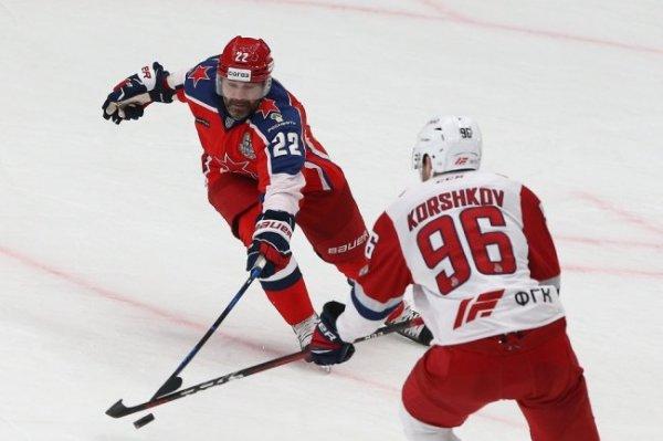 Московский ЦСКА вышел вперед в четвертьфинальной серии Кубка Гагарина