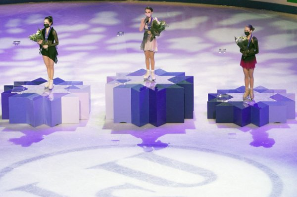 Российские фигуристы выиграли командный зачет чемпионата мира