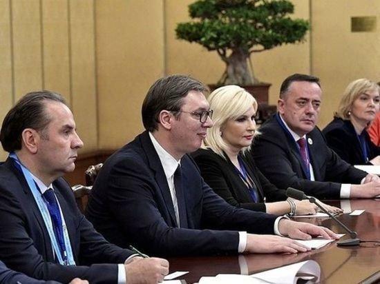 Вучич рассказал о попытке госпереворота в Сербии