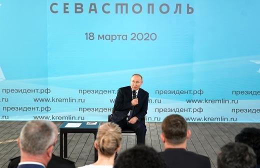 Путин пообещал сделать всё для обеспечения стабильности в Крыму