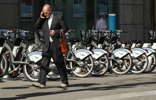 В Москве установят еще 67 станций велопроката