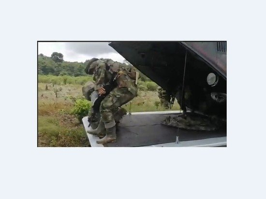 Колумбия направила спецназ на границу с Венесуэлой