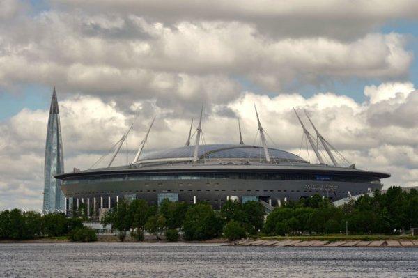 На матчи ЧЕ по футболу в Петербурге допустят 50% зрителей от полной арены