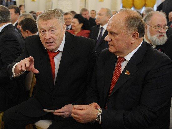 Проигрышная партия: почему Жириновский и Зюганов опасаются уступить дорогу молодым
