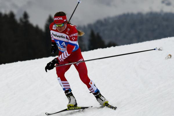 Истомина выиграла масс-старт на чемпионате России лыжным гонкам