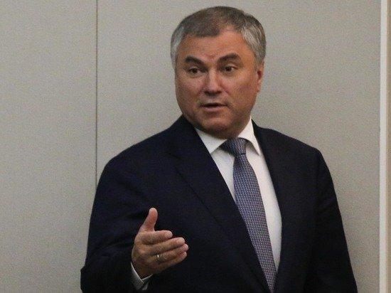 Володин предложил обсудить исключение Украины из Совета Европы