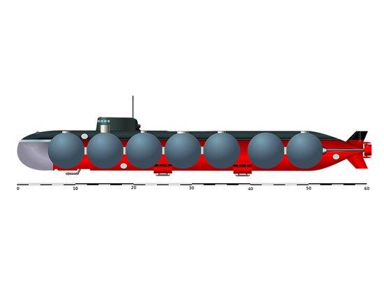 Сверхсекретная атомная подводка «Лошарик» будет ремонтироваться 4 года