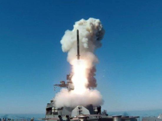 Российский фрегат осуществил пуск «Калибра» в Японском море