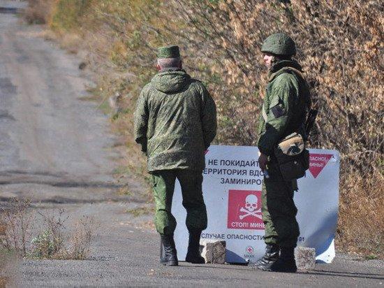 Милиция ДНР сообщает о столкновениях с военными Украины