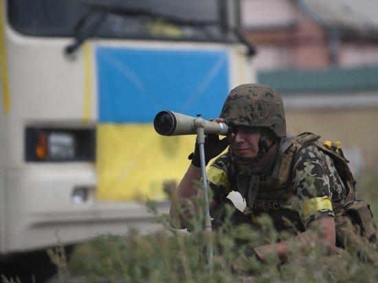 Киев открыл огонь по приоритетному направлению наступления в Донбассе