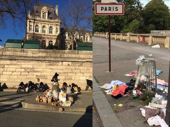 Разъяренные французы обвинили власти в превращении Парижа в «мусорную свалку»
