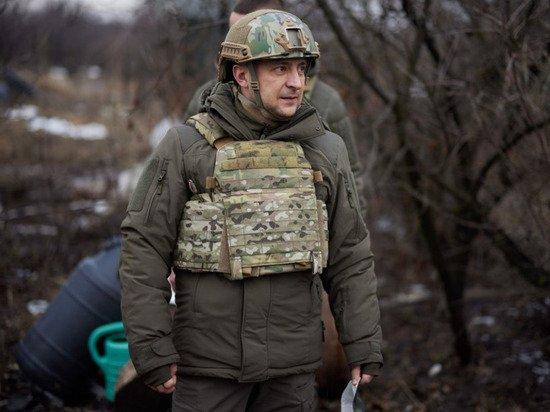 Прибывшего в Донбасс Зеленского назвали