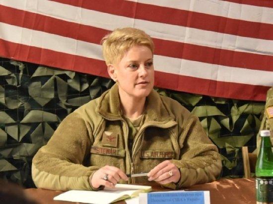 Военного атташе США засняли с нашивкой «Украина или смерть»