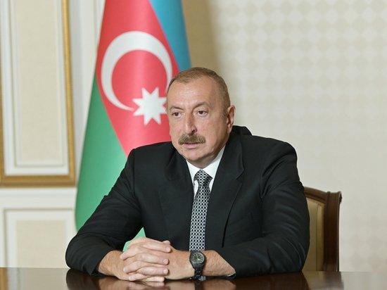 """Алиев потребовал ответа, откуда Армения получила """"Искандер-М"""""""