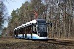 В Москве запустили модернизированные трамваи «Витязь-М» нового поколения
