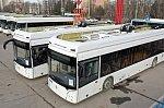 В Уфу прибыла партия новых троллейбусов УТТЗ «Горожанин»