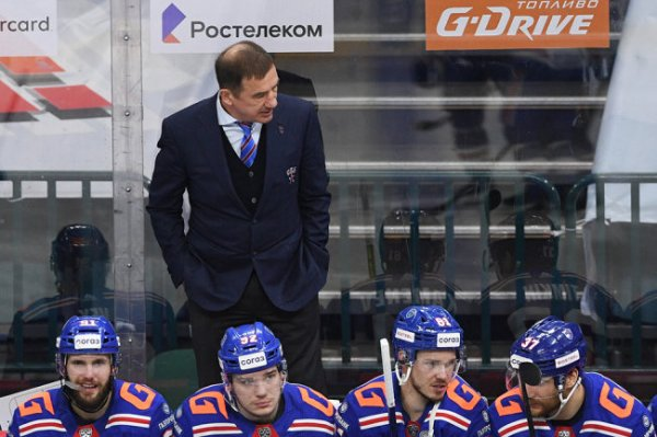 Александр Кожевников: СКА за сезон - пять с минусом