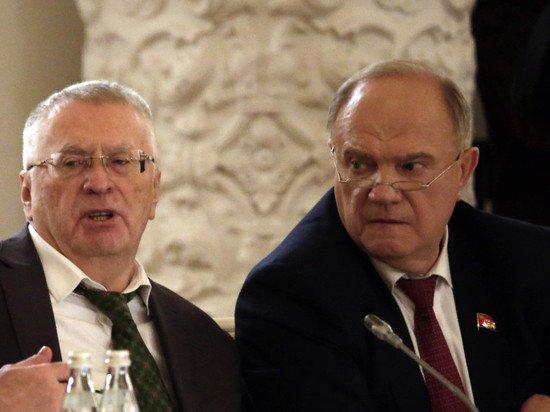 Зюганов разнес предсказавшего его отставку «фюрера» Жириновского