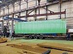 ЧТЗ запускает производство морских контейнеров
