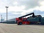 Из Финляндии в Японию по Транссибу отправлен полносоставный контейнерный поезд