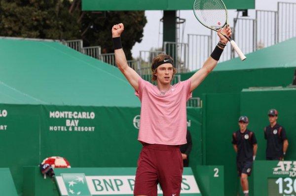 Российский теннисист Рублев вышел в финал турнира в Монте-Карло