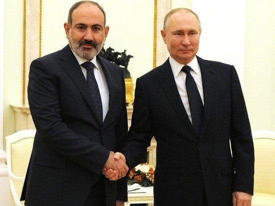 Пашинян назвал Россию братской страной