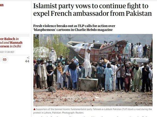В Пакистане начались протесты из-за ареста лидера исламской террористической организации