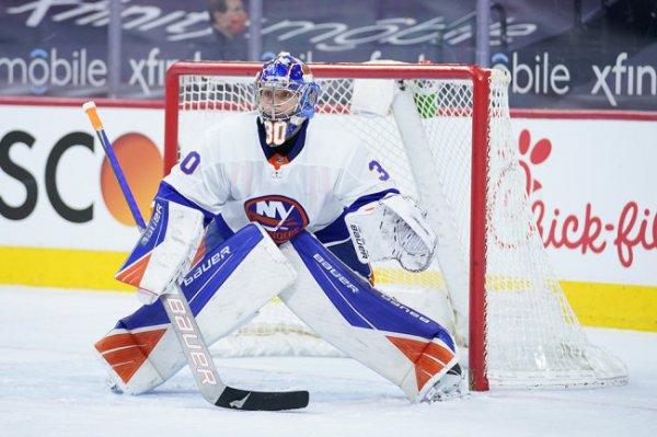 Сорокин сыграл третий матч на ноль в НХЛ