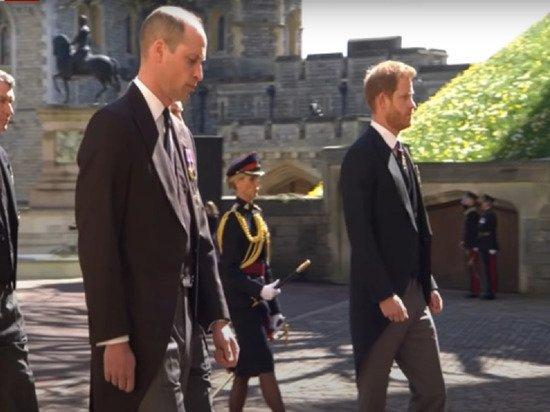 Эксперт по губам раскрыл, что принц Уильям сказал Гарри на похоронах Филиппа