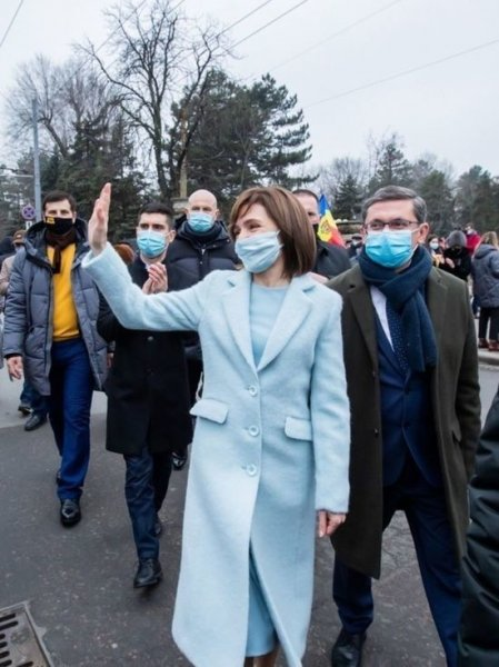 Президент Молдавии заявила об