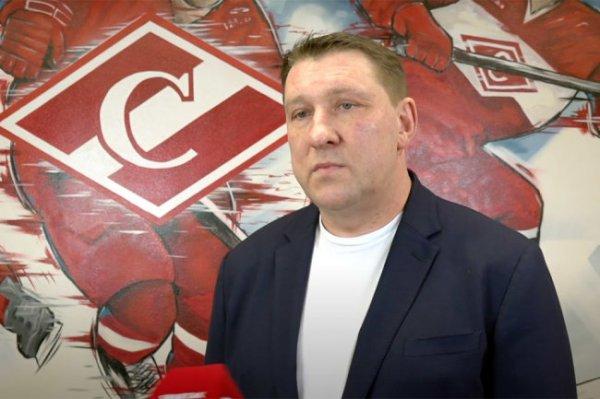Борис Миронов назначен на пост главного тренера хоккейного